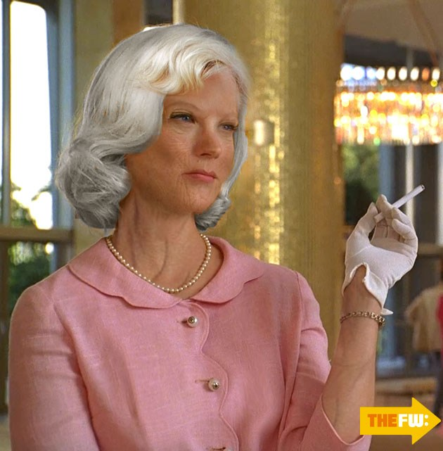 בטי ב-2013. אם היא מחזיקה סיגריה ביד, לא בטוח שתגיע לגיל הזה