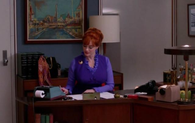 ג'ואן במשרדה. שופה בתואר, מזכריה בפועל.