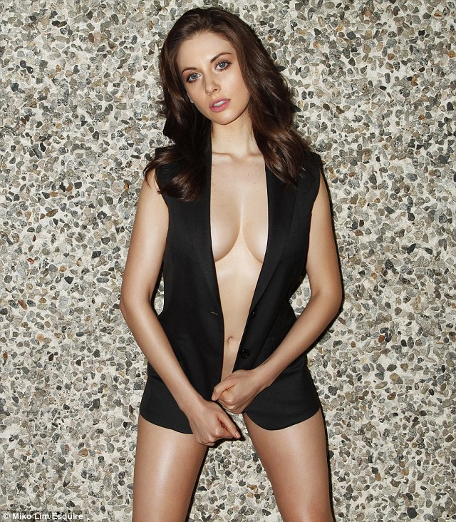 MAd Men Alison Brie Esquire