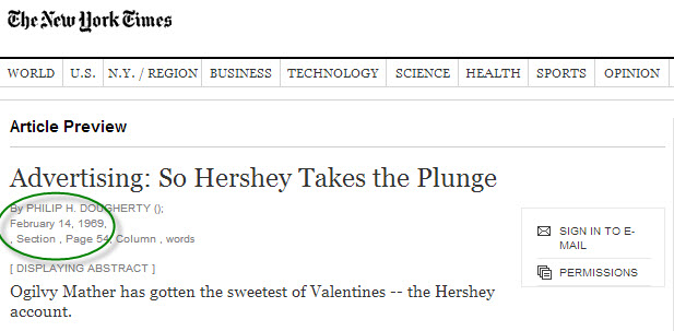 NYTimes Hershey article
