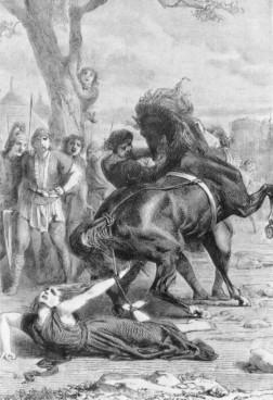 ברונהילדה מוצאת להורג. מקורות השראה לרמזי
